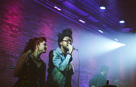 Black Diet performing on The Lowertown Line