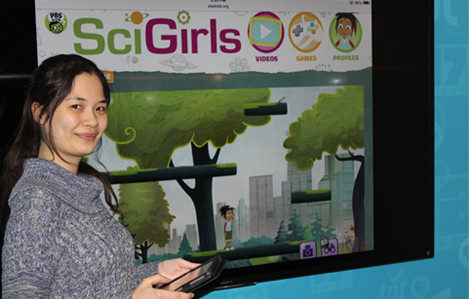 Laura, Game Designer for SciGirls