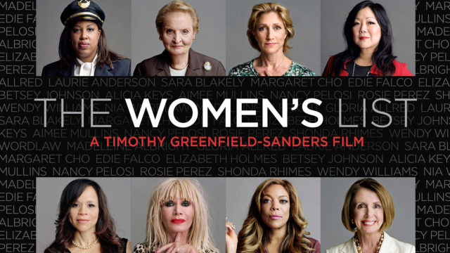 The Women's List promo poster